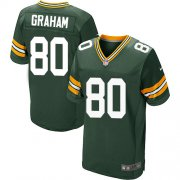Wholesale Cheap Nike Packers #80 Jimmy Graham Green Team Color Men's Stitched NFL Elite Jersey