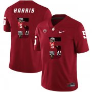 Wholesale Cheap Washington State Cougars 5 Travell Harris Red Fashion College Football Jersey