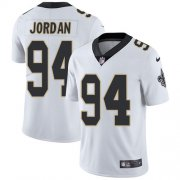 Wholesale Cheap Nike Saints #94 Cameron Jordan White Youth Stitched NFL Vapor Untouchable Limited Jersey