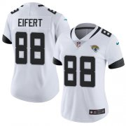 Wholesale Cheap Nike Jaguars #88 Tyler Eifert White Women's Stitched NFL Vapor Untouchable Limited Jersey
