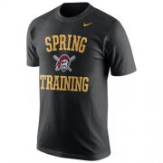 Wholesale Cheap Pittsburgh Pirates Nike Spring Training Local Phrase T-Shirt Black