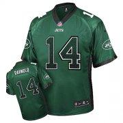 Wholesale Cheap Nike Jets #14 Sam Darnold Green Team Color Men's Stitched NFL Elite Drift Fashion Jersey