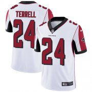 Wholesale Cheap Nike Falcons #24 A.J. Terrell White Youth Stitched NFL Vapor Untouchable Limited Jersey