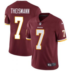 Wholesale Cheap Nike Redskins #7 Joe Theismann Burgundy Red Team Color Men\'s Stitched NFL Vapor Untouchable Limited Jersey