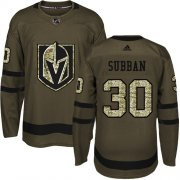 Wholesale Cheap Adidas Golden Knights #30 Malcolm Subban Green Salute to Service Stitched NHL Jersey