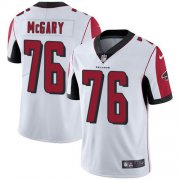 Wholesale Cheap Nike Falcons #76 Kaleb McGary White Men's Stitched NFL Vapor Untouchable Limited Jersey