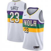 Wholesale Cheap Nike NBA New Orleans Pelicans #23 Anthony Davis Jersey 2018-19 New Season City Edition Jersey