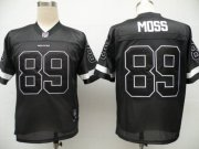 Wholesale Cheap Redskins #89 Santana Moss Black Shadow Stitched NFL Jersey