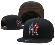 Wholesale Cheap New York Yankees Snapback Ajustable Cap Hat YD 7