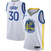 Wholesale Cheap Warriors #30 Stephen Curry White Basketball Swingman Association Edition 2019-2020 Jersey