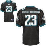 Wholesale Cheap Eagles #23 Rodgers-Cromartie Black Stitched NFL Jersey