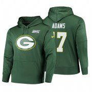 Wholesale Cheap Green Bay Packers #17 Davante Adams Nike NFL 100 Primary Logo Circuit Name & Number Pullover Hoodie Green