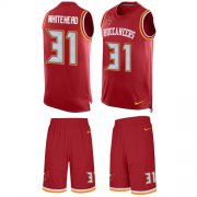Wholesale Cheap Nike Buccaneers #31 Jordan Whitehead Red Team Color Men's Stitched NFL Limited Tank Top Suit Jersey