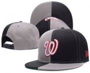 Wholesale Cheap Washington Nationals Snapback Ajustable Cap Hat 2