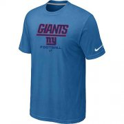 Wholesale Cheap Nike New York Giants Critical Victory NFL T-Shirt Light Blue