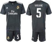 Wholesale Cheap Real Madrid #5 Varane Away Soccer Club Jersey
