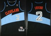 Wholesale Cheap Cleveland Cavaliers #2 Kyrie Irving ABA Hardwood Classic Swingman Black Jersey