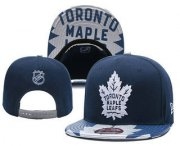 Wholesale Cheap Toronto Maple Leafs Snapback Ajustable Cap Hat YD