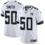 Wholesale Cheap Nike Jaguars #50 Telvin Smith White Youth Stitched NFL Vapor Untouchable Limited Jersey