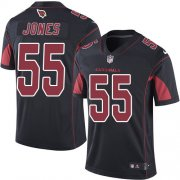 Wholesale Cheap Nike Cardinals #55 Chandler Jones Black Men's Stitched NFL Limited Rush Jersey