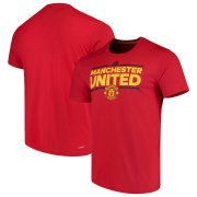 Wholesale Cheap Manchester United adidas City Nickname T-Shirt Red