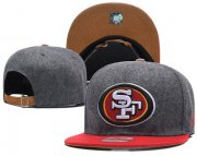 Wholesale Cheap NFL San Francisco 49ers Fresh Logo Adjustable Hat