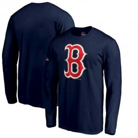Wholesale Cheap Boston Red Sox Majestic 2019 Gold Program Long Sleeve T-Shirt Navy