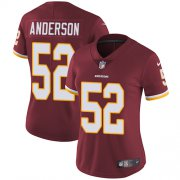 Wholesale Cheap Nike Redskins #52 Ryan Anderson Burgundy Red Team Color Women's Stitched NFL Vapor Untouchable Limited Jersey