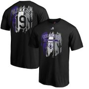 Wholesale Cheap Colorado Rockies #19 Charlie Blackmon Majestic 2019 Spring Training Name & Number T-Shirt Black