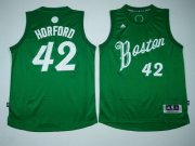 Wholesale Cheap Men's Boston Celtics #42 Al Horford adidas Green 2016 Christmas Day Stitched NBA Swingman Jersey