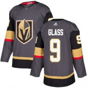 Wholesale Cheap Adidas Golden Knights #9 Cody Glass Grey Home Authentic Stitched NHL Jersey