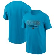 Wholesale Cheap Carolina Panthers Nike Team Property Of Essential T-Shirt Blue