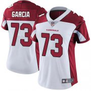 Wholesale Cheap Nike Cardinals #73 Max Garcia White Women's Stitched NFL Vapor Untouchable Limited Jersey