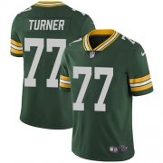 Wholesale Cheap Nike Packers #77 Billy Turner Green Team Color Men's Stitched NFL Vapor Untouchable Limited Jersey