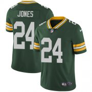 Wholesale Cheap Nike Packers #24 Josh Jones Green Team Color Men's Stitched NFL Vapor Untouchable Limited Jersey