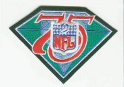 Wholesale Cheap Stitched NFL 75th Throwback Jersey Patch