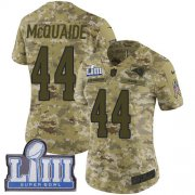 Wholesale Cheap Nike Rams #44 Jacob McQuaide Camo Super Bowl LIII Bound Women's Stitched NFL Limited 2018 Salute to Service Jersey