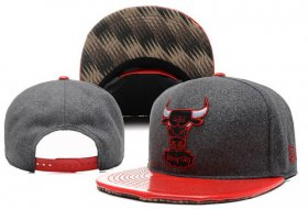 Wholesale Cheap NBA Chicago Bulls Snapback Ajustable Cap Hat YD 03-13_12