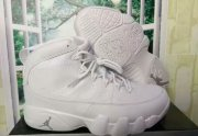 Wholesale Cheap Womens Air Jordan 9 Retro Shoes All White