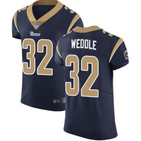 Wholesale Cheap Nike Rams #32 Eric Weddle Navy Blue Team Color Men\'s Stitched NFL Vapor Untouchable Elite Jersey