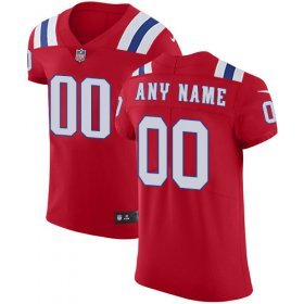 Wholesale Cheap Nike New England Patriots Customized Red Alternate Stitched Vapor Untouchable Elite Men\'s NFL Jersey