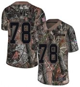 Wholesale Cheap Nike Giants #78 Andrew Thomas Camo Youth Stitched NFL Limited Rush Realtree Jersey