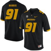 Wholesale Cheap Missouri Tigers 91 Charles Harris Black Nike College Football Jersey