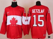 Wholesale Cheap Olympic 2014 CA. #15 Ryan Getzlaf Red Stitched NHL Jersey