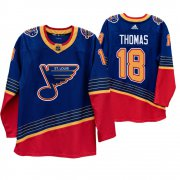 Wholesale Cheap St. Louis Blues #18 Robert Thomas 90s Vintage 2019-20 Authentic Royal NHL Jersey