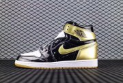Wholesale Cheap Air Jordan 1 High OG ComplexCon Gold/Black-White