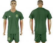 Wholesale Cheap Sweden Blank Green Goalkeeper Soccer Country Jersey