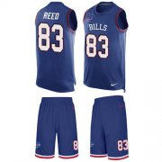 Wholesale Cheap Nike Bills #83 Andre Reed Royal Blue Team Color Men's Stitched NFL Limited Tank Top Suit Jersey