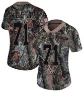 Wholesale Cheap Nike Browns #71 Jedrick Wills JR Camo Women's Stitched NFL Limited Rush Realtree Jersey