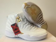 Wholesale Cheap Air Jordan 12 OVO White/gold